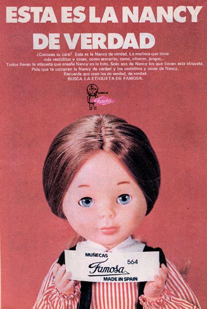 Muñeca Nancy, de Famosa (1974) 1