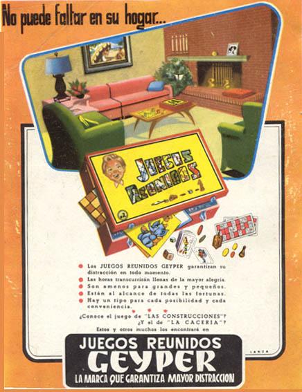 Juegos Reunidos Geyper (1958) 1