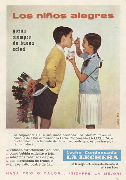 Leche Condensada La Lechera (1959) 1