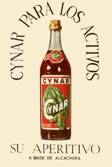 Aperitivo de Alcachofa Cynar (1974) 1