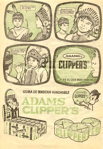 Chicle Addams Clipper´s (1964) 1