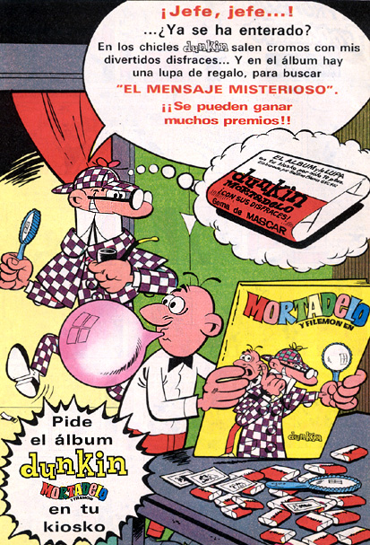 Chicles Dunkin (1971) 1