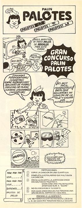 Caramelos Palotes (1970) 1
