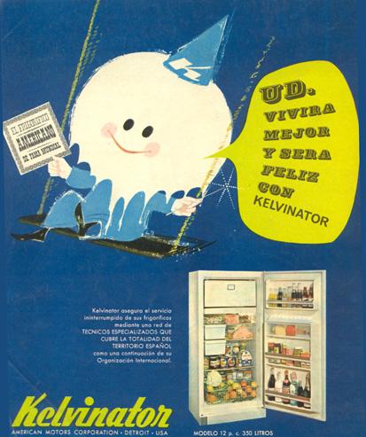 Nevera Frigorífico Kelvinator (1963) 1