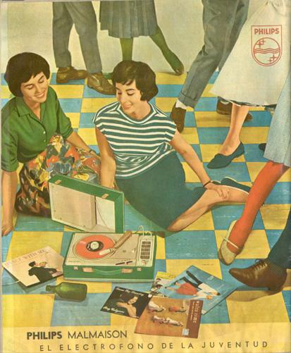 Tocadiscos Philips (1963) 1