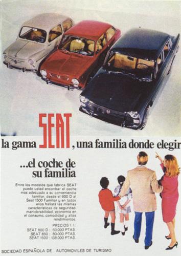 Seat 600, 850 y 1500 (1967) 1