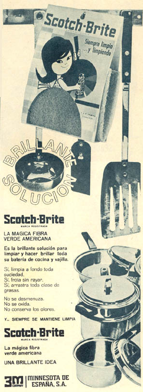 Estropajo Scotch-Brite (1965) 1